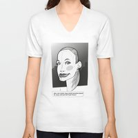 fresh prince V-neck T-shirts featuring Fresh by Zsolt Czeizler