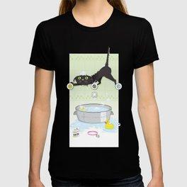 The kitty bath T-shirt
