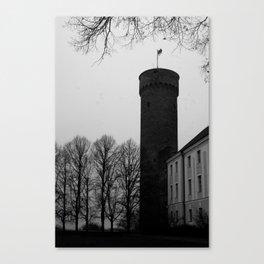 Castle tower Canvas Print