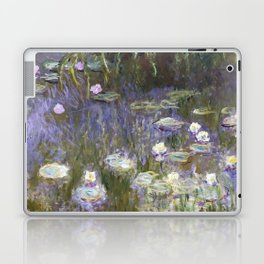 Water Lilies 1922 by Claude Monet Laptop & iPad Skin