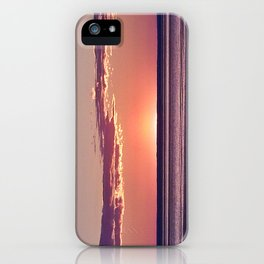 Dusk in the East iPhone Case