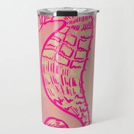 Pink art Travel Mug