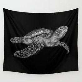 Sea Turtle 2 Wall Tapestry