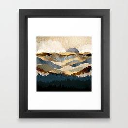 Golden Vista Framed Art Print