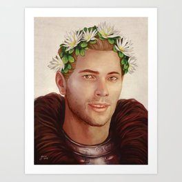 Cullen with Ardent Blossom Art Print