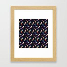Spilled Cereal Arrangement No. 1 Framed Art Print