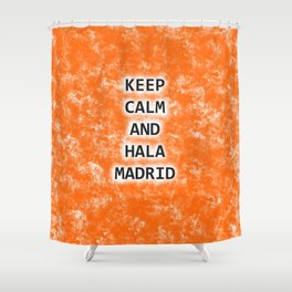KC&HALAMADRID Shower Curtain