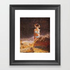Build a Woman - Desert Strom Framed Art Print