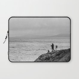 Fishing the Irish Coast Laptop Sleeve