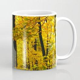 Sun Through Autumn Leaves Coffee Mug