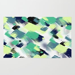 Abstract pattern 153 Rug