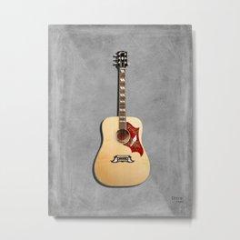 Dove Acoustic Guitar 1960 Metal Print