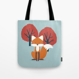 Foxy Friend Tote Bag