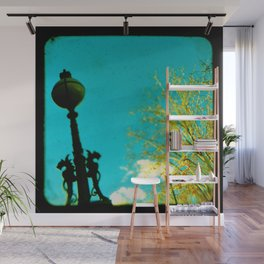 The Lamp Post Wall Mural