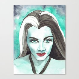 Lily Munster Canvas Print