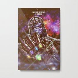 THA PRINT Metal Print