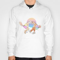 sport Hoodies featuring Sport Shibe by furious-teapot
