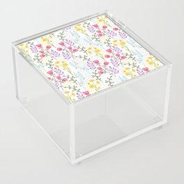 Woodland wildflowers Acrylic Box