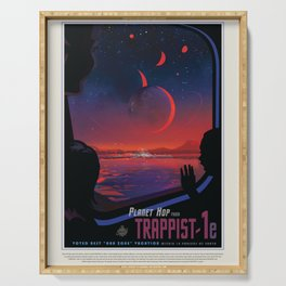 NASA / Visions of the Future / TRAPPIST-1e Serving Tray