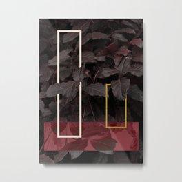 Burgundy Fall #society6 #decor #buyart Metal Print