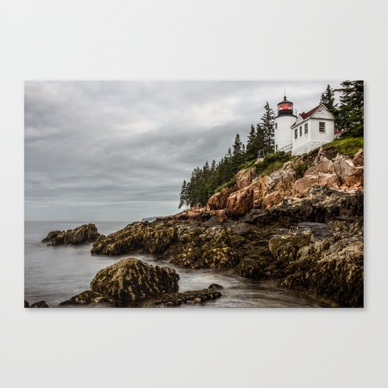 Bass Harbor Lighthouse - Acadia National Park Canvas Print