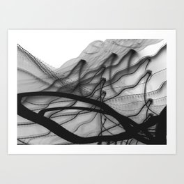 ink-like Art Print