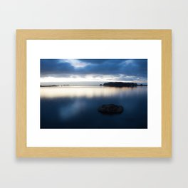 Hikshari' Trail Sunset 2 Framed Art Print
