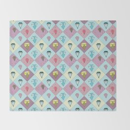 Literal Gems Throw Blanket