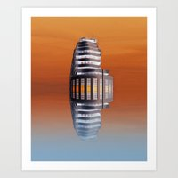 art deco Art Prints featuring Art Deco by Shalisa Photography