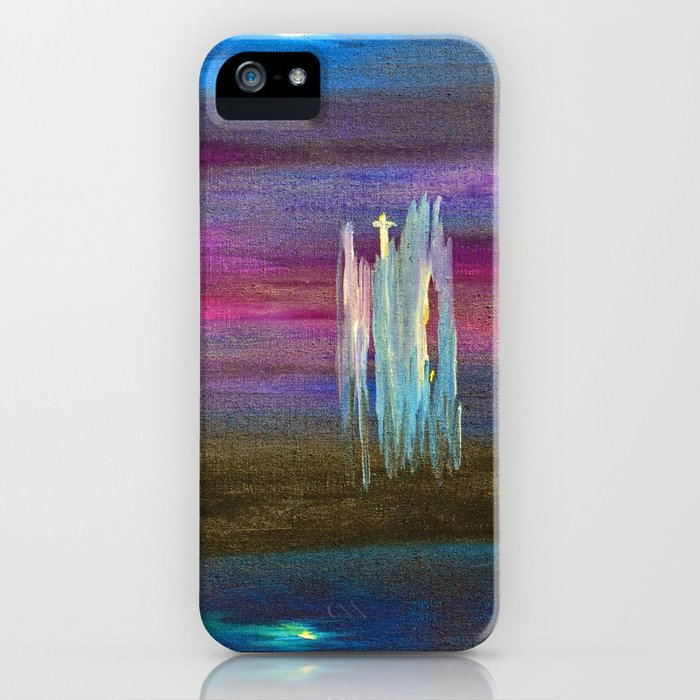 """""""Nightscape #1"""" Painting iPhone Case"""