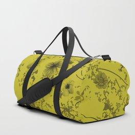 Festive watercolor flowers 24 Duffle Bag