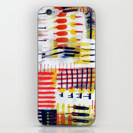 Overlapping Colors iPhone Skin