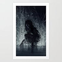 Art Prints featuring Nocturne by loish