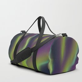 Neon Aurora Borealis Duffle Bag