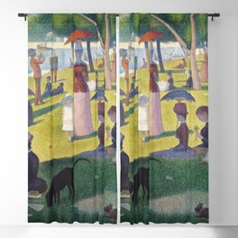 A Sunday on La Grande Jatte by Georges Seurat, 1884 Blackout Curtain