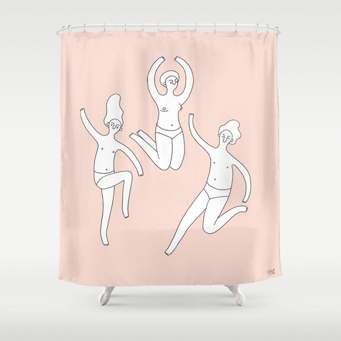Lets Dance Shower Curtain