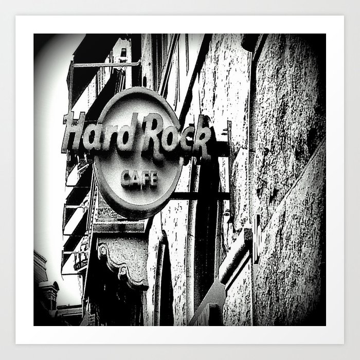 Hard-Rock-Cafe Art Print