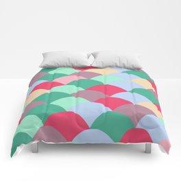 Red Scoops Comforters