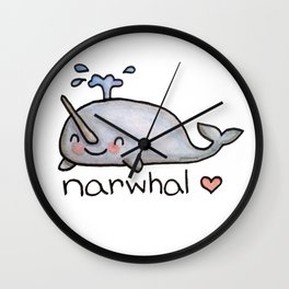 narwhal  Wall Clock