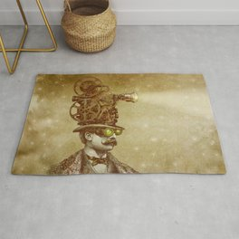 The Projectionist (sepia option) Rug