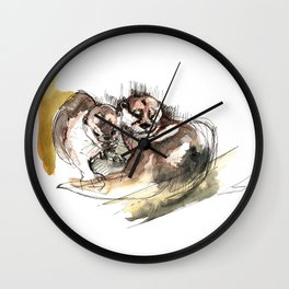 Totem: Asian small-clawed otter (c) 2017 Wall Clock