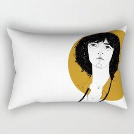 Patti Smith Rectangular Pillow