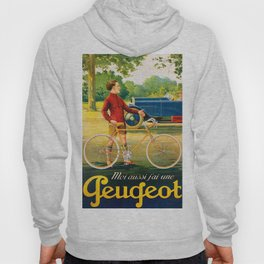 Vintage French Cycling Poster Hoody