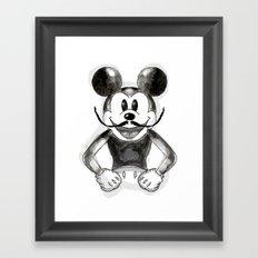 Hey Mickey Framed Art Print