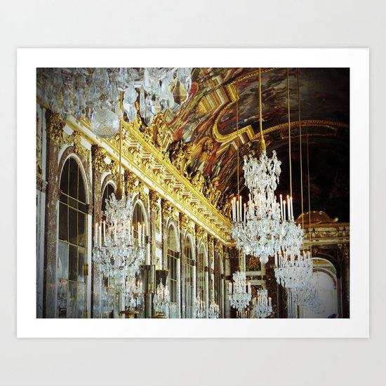 Galerie des Glaces Art Print