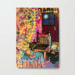 Tea With Gypsies Metal Print