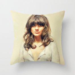 Linda Ronstadt, Music Legend Throw Pillow