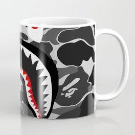 shark camo pattren Coffee Mug