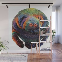 Color of a Manatee (Transparent)  Wall Mural