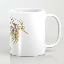 cat fishing  Coffee Mug